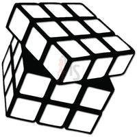 Rubik's Cube Puzzle Gaming Decal Sticker
