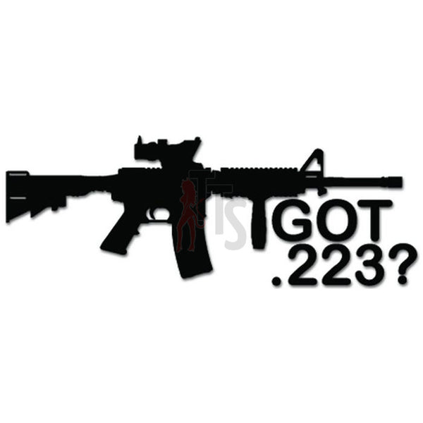Got .223 AR-15 USMC Rifle Ammo Decal Sticker