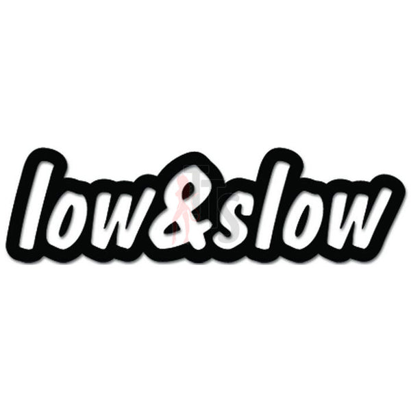 Low and SLow JDM Japanese Decal Sticker Style 1