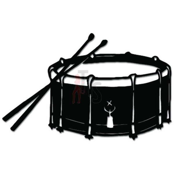 Drum Drummer Music Decal Sticker Style 1