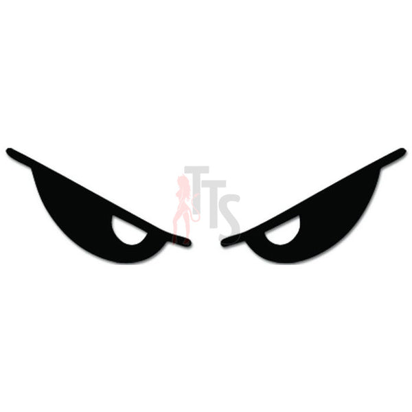 Evil Eyes Decal Sticker