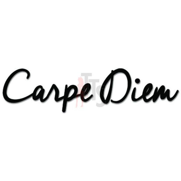 Carpe Diem Seize The Day Decal Sticker
