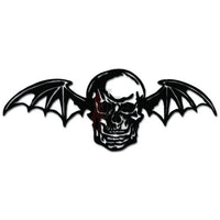 Death Skull Wings Bat Vampire Decal Sticker