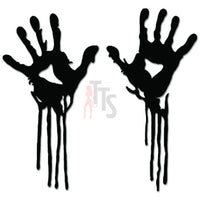 Zombies Hands Apocalypse Decal Sticker