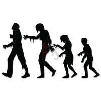 The Walking Family Zombies Decal Sticker Style 2