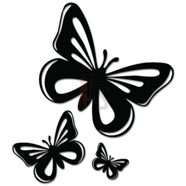 Flying Butterfies Butterfly Decal Sticker