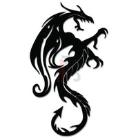 Tribal Dragon Decal Sticker Style 4