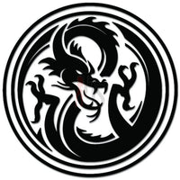 Tribal Dragon Decal Sticker Style 5