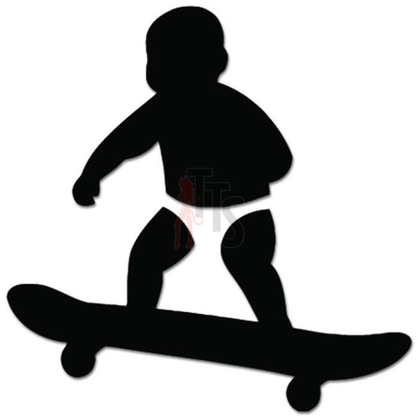 Baby On Board Skateboard Decal Sticker