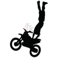 Motorcycle Motocross Freestyle Decal Sticker Style 1