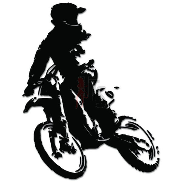 Motorcycle Motocross Freestyle Decal Sticker Style 2