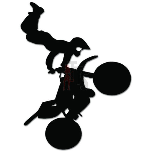 Motorcycle Motocross Freestyle Decal Sticker Style 4