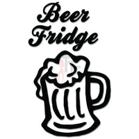 Beer Fridge Alcohol Decal Sticker