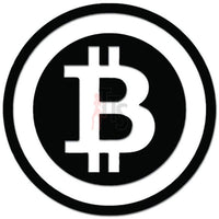 Bitcoin Cryptocurrency Money Decal Sticker
