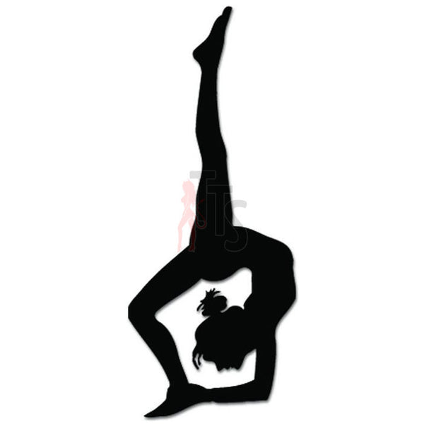 Gymnast Girl Olympics Decal Sticker