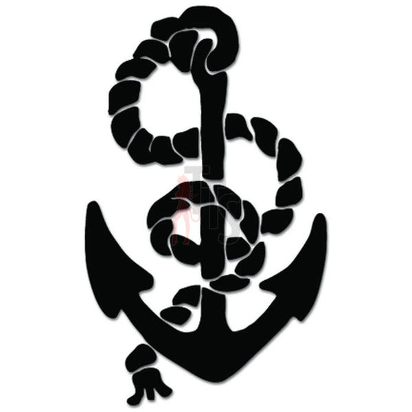 Sailing Anchor Sailor Navy Decal Sticker