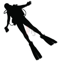 Scuba Diving Diver Decal Sticker Style 1
