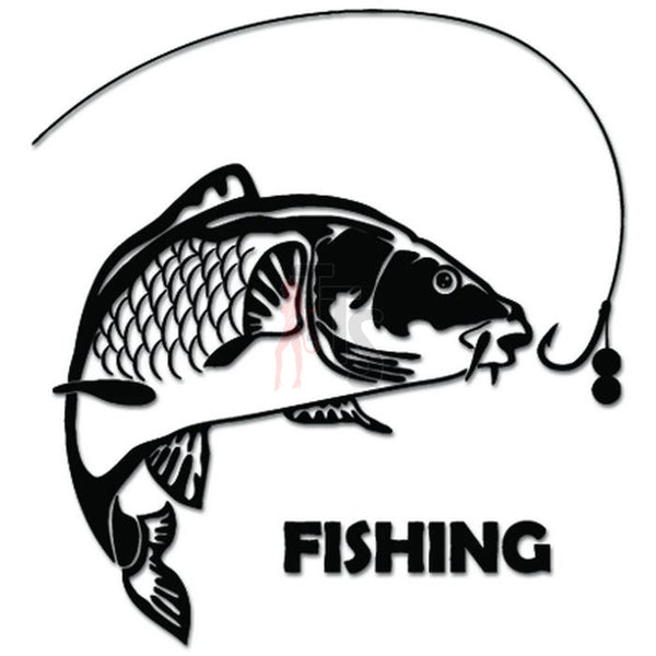 Carp Fishing Fish Decal Sticker