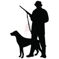 Hunter Dog Hunting Decal Sticker