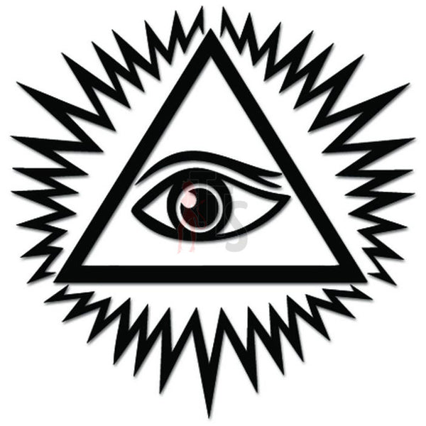 Eye of Providence All Seeing Decal Sticker