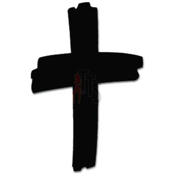 Cross Christian Decal Sticker Style 2