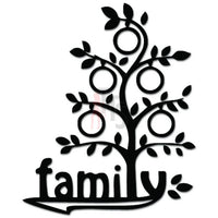 Family Tree Decal Sticker