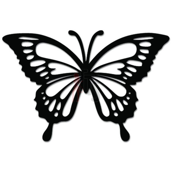 Butterfly Insect Decal Sticker Style 2