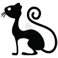 Skinny Cat Pet Decal Sticker