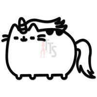 Cat Caticorn Fantasy Decal Sticker