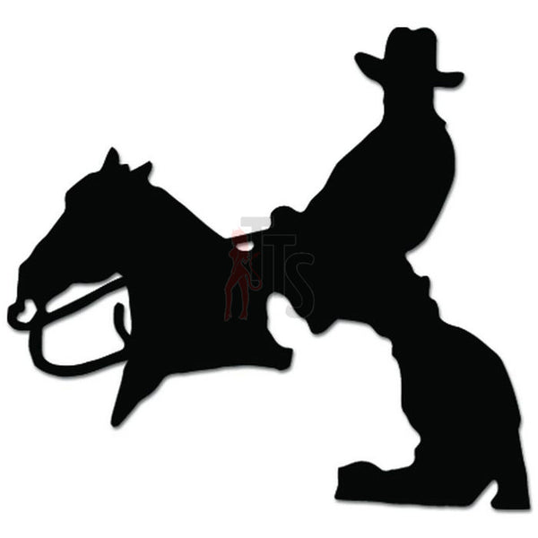 Horse Cowboy Cattle Cow Rodeo Decal Sticker