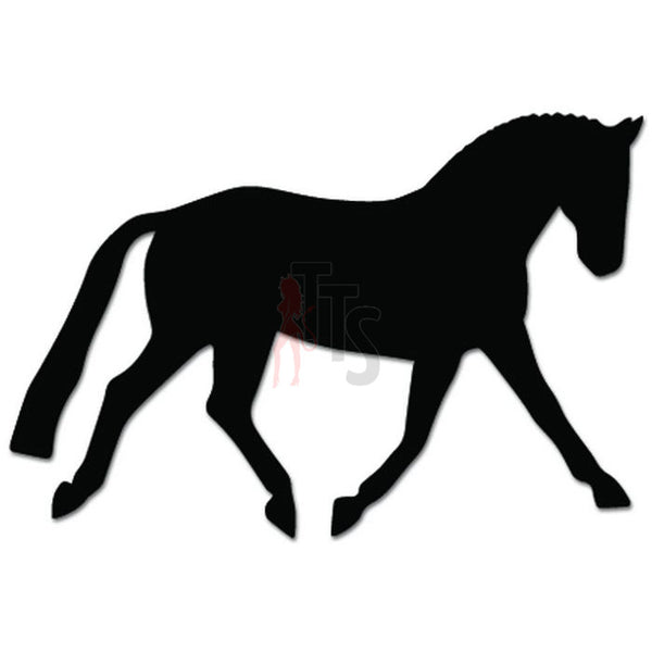 Horse Dressage Equestrian Decal Sticker