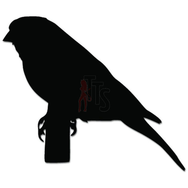 Canary Bird Animal Pet Decal Sticker