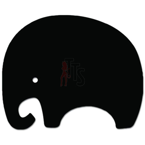 Cute Elephant Aimal Safari Africa Decal Sticker