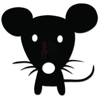 Cute Little Mouse Mice Pet Decal Sticker