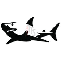 Great White Shark Fish Predator Decal Sticker