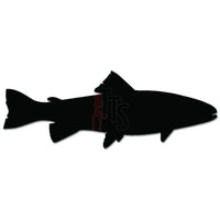 Trout Fish Fishing Decal Sticker Style 3