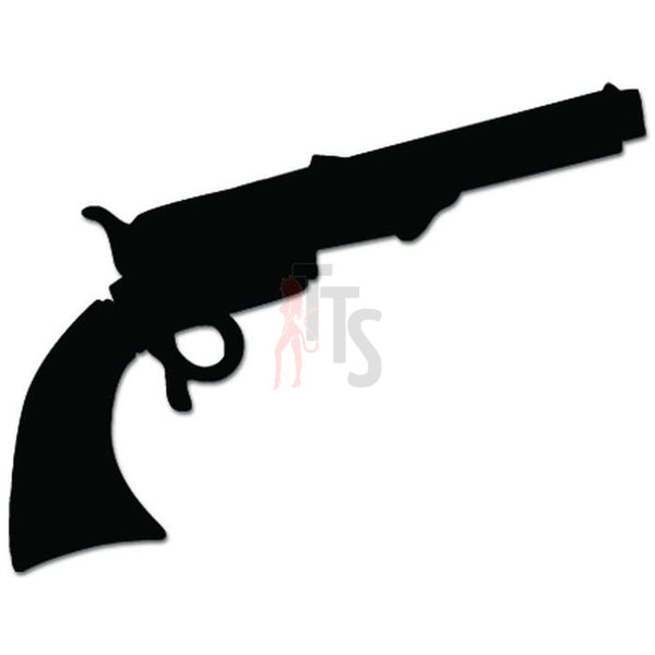 Hand Gun Pistol Decal Sticker Style 1