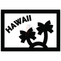 Palm Trees Hawaii Decal Sticker Style 3