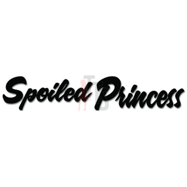 Spoiled Princess JDM Japanese Decal Sticker
