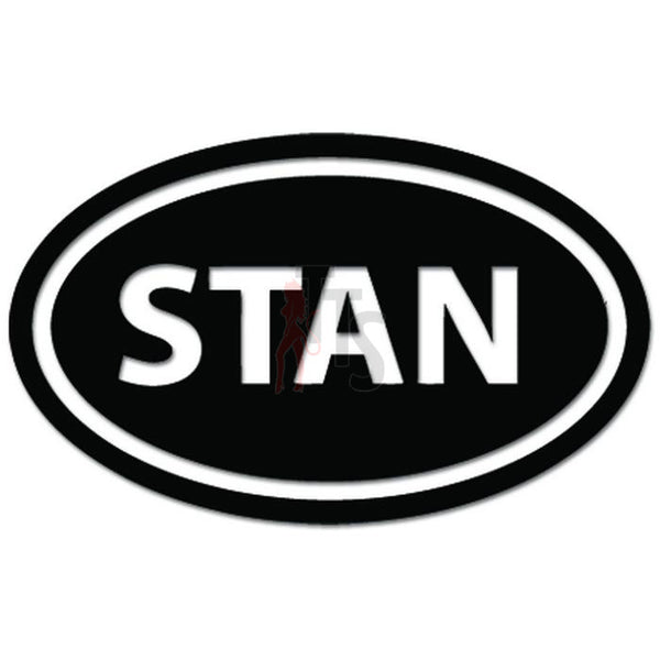 STAN Oval Afghanistan Military Deployment Decal Sticker