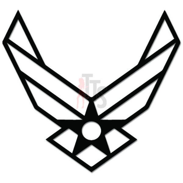 USAF Air Force Emblem Decal Sticker Style 1