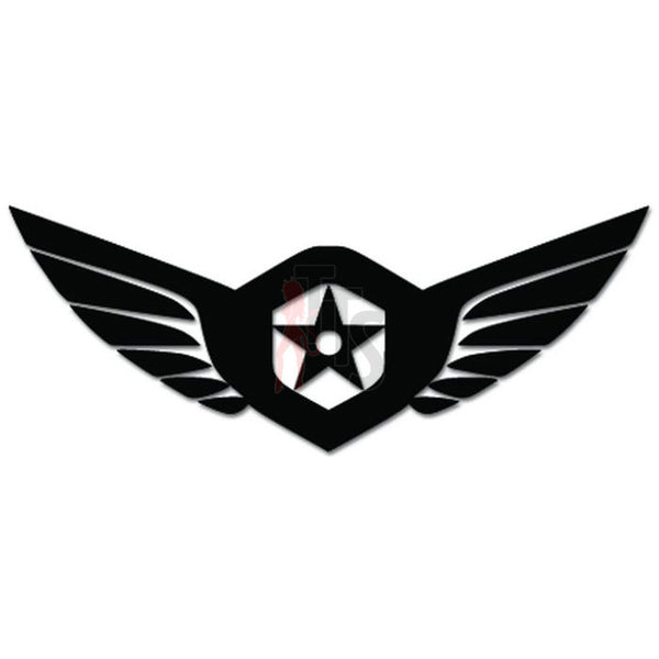 US Army Star Decal Sticker Style 1