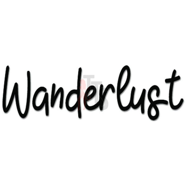 Wanderlust Decal Sticker