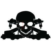 Crane Operator Death Skull Job Decal Sticker