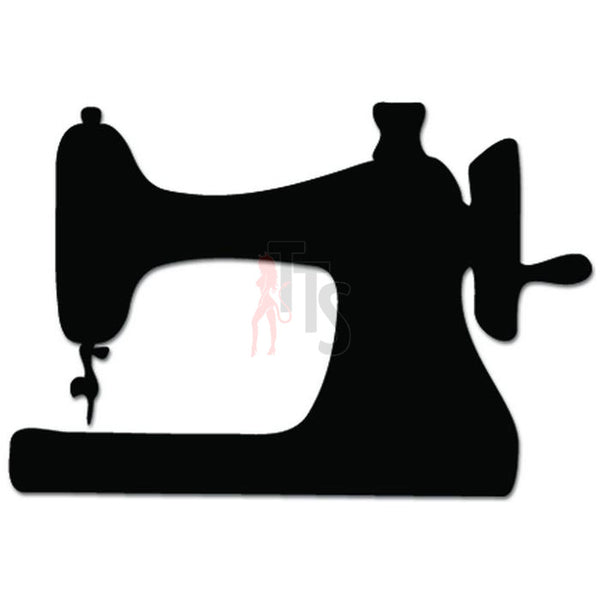 Sewing Machine Tailor Seamtress Job Decal Sticker