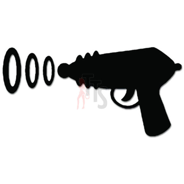 Alien Radar Gun Pistol Decal Sticker