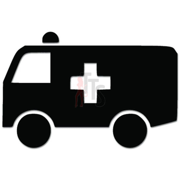 Ambulance Van Driver Medic Paramedic Job Decal Sticker