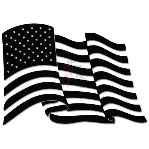 American Flag USA Patriot Decal Sticker