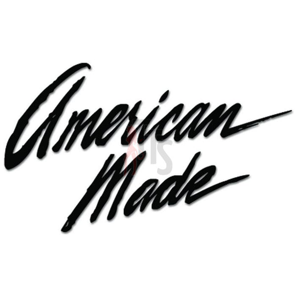 American Made Decal Sticker