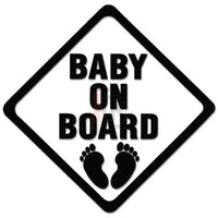 Caution Baby On Board Decal Sticker